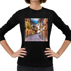 Alsace France Women s Long Sleeve T-shirt (Dark Colored)