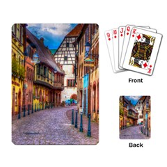 Alsace France Playing Cards Single Design