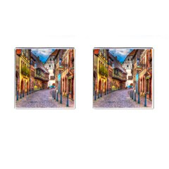 Alsace France Cufflinks (Square)