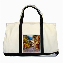 Alsace France Two Toned Tote Bag