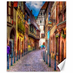 Alsace France Canvas 8  x 10  (Unframed)