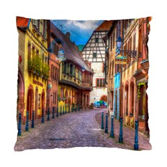 Alsace France Cushion Case (Two Sided)
