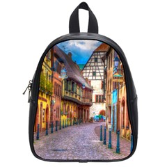 Alsace France School Bag (small)