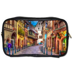 Alsace France Travel Toiletry Bag (two Sides)