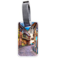 Alsace France Luggage Tag (two Sides)