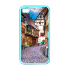 Alsace France Apple Iphone 4 Case (color)
