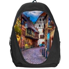 Alsace France Backpack Bag