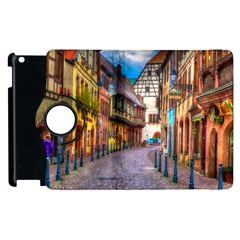 Alsace France Apple Ipad 3/4 Flip 360 Case