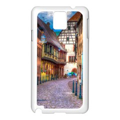 Alsace France Samsung Galaxy Note 3 N9005 Case (White)