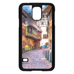 Alsace France Samsung Galaxy S5 Case (Black)