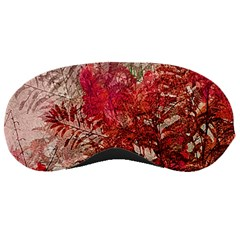 Decorative Flowers Collage Sleeping Mask