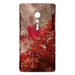 Decorative Flowers Collage Sony Xperia ion Hardshell Case