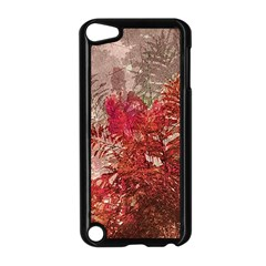 Decorative Flowers Collage Apple Ipod Touch 5 Case (black)
