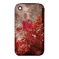 Decorative Flowers Collage Apple iPhone 3G/3GS Hardshell Case (PC+Silicone)