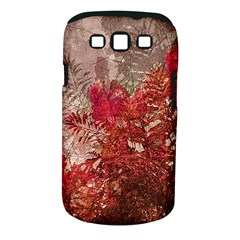 Decorative Flowers Collage Samsung Galaxy S III Classic Hardshell Case (PC+Silicone)