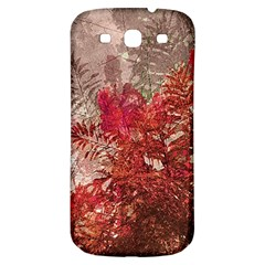 Decorative Flowers Collage Samsung Galaxy S3 S Iii Classic Hardshell Back Case