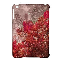 Decorative Flowers Collage Apple Ipad Mini Hardshell Case (compatible With Smart Cover)