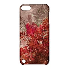Decorative Flowers Collage Apple iPod Touch 5 Hardshell Case with Stand