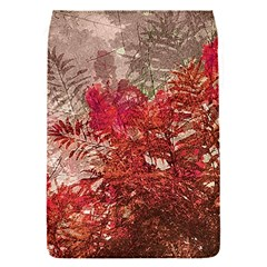 Decorative Flowers Collage Removable Flap Cover (small)