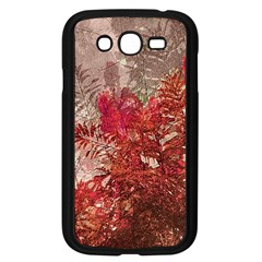 Decorative Flowers Collage Samsung Galaxy Grand DUOS I9082 Case (Black)