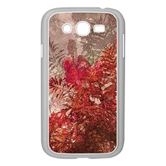 Decorative Flowers Collage Samsung Galaxy Grand Duos I9082 Case (white)