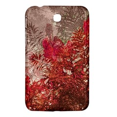 Decorative Flowers Collage Samsung Galaxy Tab 3 (7 ) P3200 Hardshell Case