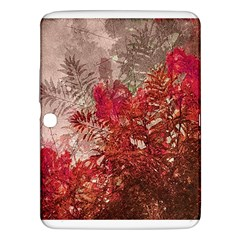 Decorative Flowers Collage Samsung Galaxy Tab 3 (10.1 ) P5200 Hardshell Case