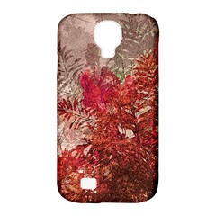 Decorative Flowers Collage Samsung Galaxy S4 Classic Hardshell Case (pc+silicone)