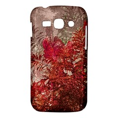 Decorative Flowers Collage Samsung Galaxy Ace 3 S7272 Hardshell Case