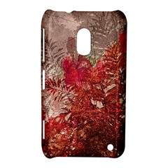Decorative Flowers Collage Nokia Lumia 620 Hardshell Case
