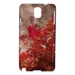 Decorative Flowers Collage Samsung Galaxy Note 3 N9005 Hardshell Case