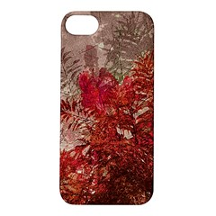 Decorative Flowers Collage Apple iPhone 5S Hardshell Case