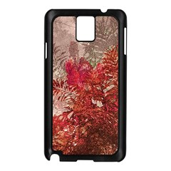 Decorative Flowers Collage Samsung Galaxy Note 3 N9005 Case (black)