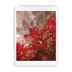 Decorative Flowers Collage Samsung Galaxy Note 10.1 (P600) Hardshell Case