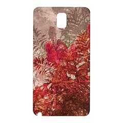 Decorative Flowers Collage Samsung Galaxy Note 3 N9005 Hardshell Back Case