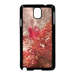 Decorative Flowers Collage Samsung Galaxy Note 3 Neo Hardshell Case (Black)