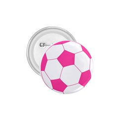 Soccer Ball Pink 1.75  Button