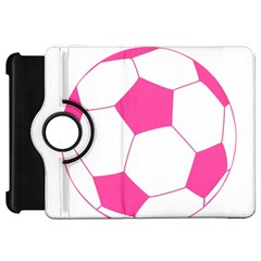 Soccer Ball Pink Kindle Fire HD 7  (1st Gen) Flip 360 Case