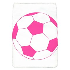 Soccer Ball Pink Removable Flap Cover (Large)