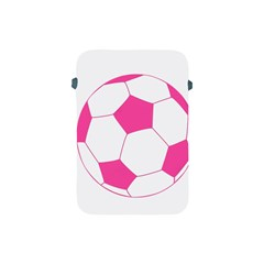 Soccer Ball Pink Apple Ipad Mini Protective Sleeve