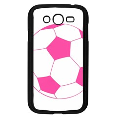 Soccer Ball Pink Samsung Galaxy Grand Duos I9082 Case (black)