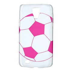 Soccer Ball Pink Samsung Galaxy S4 Active (I9295) Hardshell Case
