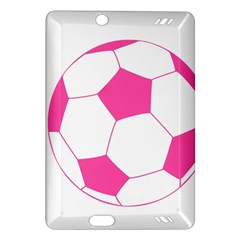 Soccer Ball Pink Kindle Fire Hd 7  (2nd Gen) Hardshell Case