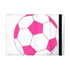 Soccer Ball Pink Apple Ipad Mini 2 Flip Case