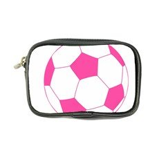 Soccer Ball Pink Coin Purse