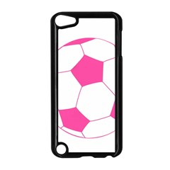 Soccer Ball Pink Apple iPod Touch 5 Case (Black)