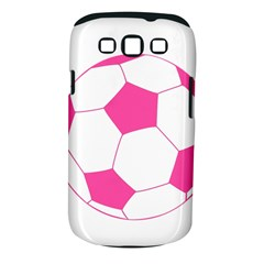 Soccer Ball Pink Samsung Galaxy S III Classic Hardshell Case (PC+Silicone)