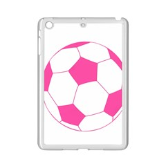 Soccer Ball Pink Apple iPad Mini 2 Case (White)