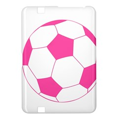 Soccer Ball Pink Kindle Fire Hd 8 9  Hardshell Case