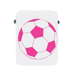Soccer Ball Pink Apple Ipad Protective Sleeve